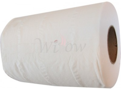 12 X 2 Ply White Mini Centrefeed Rolls   *