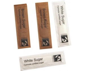Fairtrade White Sugar Sticks X 1000